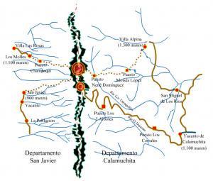 Mapa del Cerro Champaqui